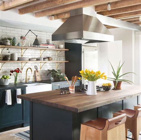 ideas  abrir la cocina al salon espacios integrados