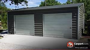 Metal Garages Order A Steel Garage And Metal Garage Kits