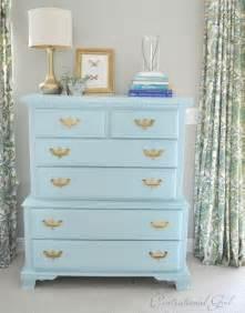 best paint to paint furniture a blue bureau my favorite paints for furniture centsational girl
