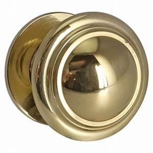 Bouton De Meuble : bouton de meuble concave laiton brillant leroy merlin ~ Teatrodelosmanantiales.com Idées de Décoration