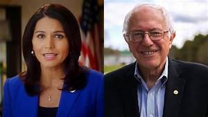Tulsi Gabbard Bernie Sanders39 Foresight Is The Difference