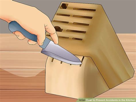 kitchen knives that never need sharpening 3 ways to prevent accidents in the kitchen wikihow