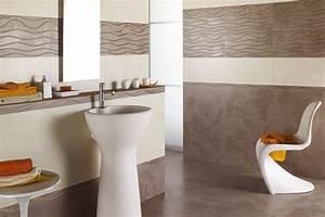 Badezimmer Fliesen Braun : moderne bad fliesen creme braun dekorativ wellenmuster badezimmer in 2019 badezimmer fliesen ~ Orissabook.com Haus und Dekorationen