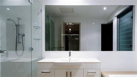 bathroom mirror and lighting ideas séura introduces smart bathroom mirror electronic house