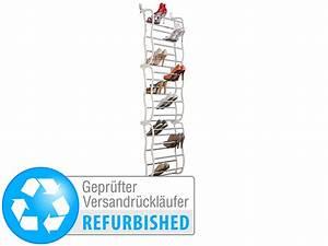 Schuhregal Für Die Tür : infactory schuhregal f r die t r f r 36 paar schuhe versandr ckl ufer ~ Watch28wear.com Haus und Dekorationen