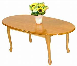 Queen anne golden oak coffee table for Golden oak coffee table