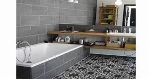 Tendance Carrelage Salle De Bain 2017 : la d co salle de bain en carreaux de ciment c 39 est chouette ~ Farleysfitness.com Idées de Décoration