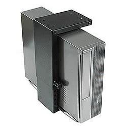 stationary mini cpu holder under desk mount zt1080152 at