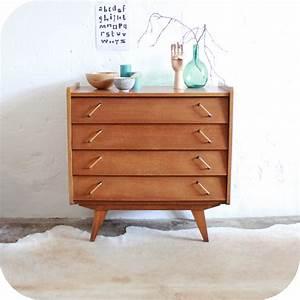 Poignée De Meuble Vintage : meuble vintage commode vintage ch ne ann es 50 atelier ~ Dailycaller-alerts.com Idées de Décoration
