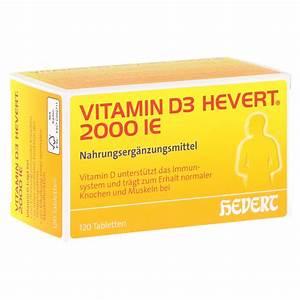 Vitamin D Dosis Berechnen : erfahrungen zu vitamin d3 hevert i e tabletten 120 ~ Themetempest.com Abrechnung