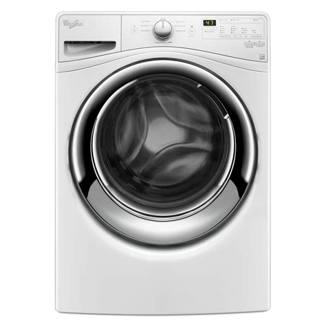 Whirlpool 45 Cu Ft Highefficiency Front Load Washer In