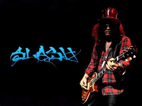 Download Wallpaper 3840x2160 Slash Guitar Hair Hat