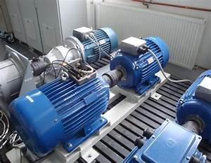 Generator Dswa  Left  Coupled With Prime Mover Induction