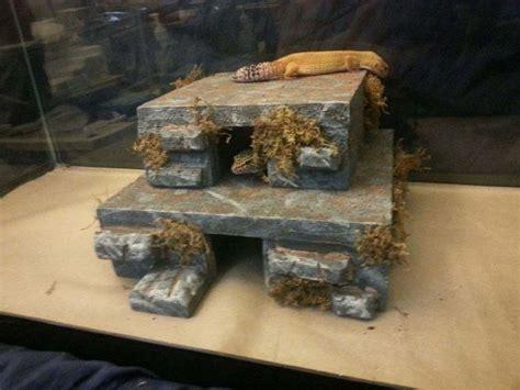 basking l for leopard gecko herphomes lizard hide reptile cave basking hide