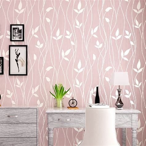 modern simple style  woven fresh light color wallpaper