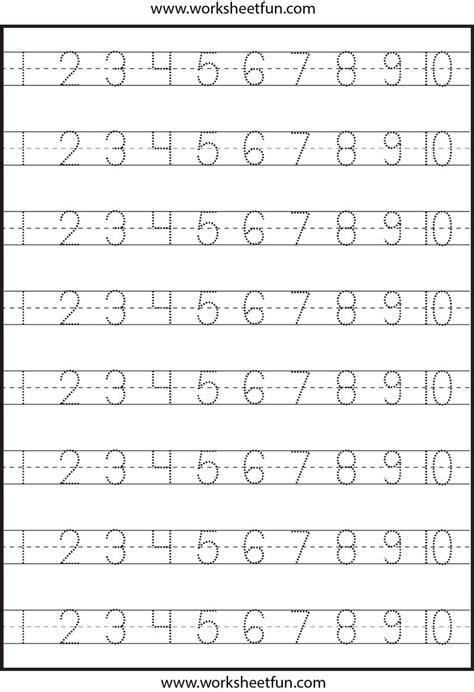 tracing letters  numbers printable  printable