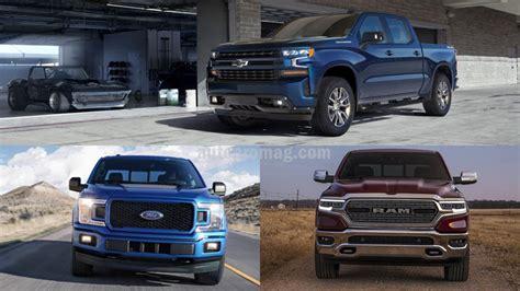 Cheyenne Vs Silverado by 2019 Chevrolet Silverado Vs Ford F 150 Vs 2019 Ram 1500
