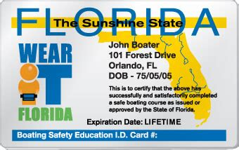 Get A Florida Boating License by Get Your Florida Boating License Boaterexam 174