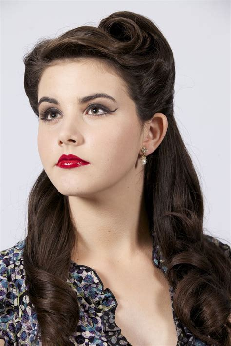 1950s Hairstyles And Makeup by Hair Makeup By Riester Vintage 1950s And Hair