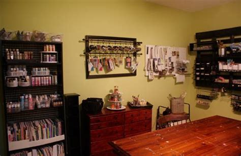 Studio Craft Room Organization Using Pallets And Other