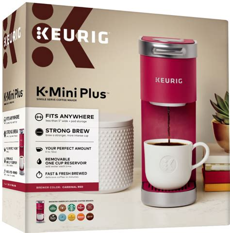 We want to help with this issue. Keurig K-Mini Plus Single Serve K-Cup Pod Coffee Maker Cardinal Red 5000200240 - Best Buy