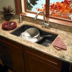 swanstone quls 3322 170 granite large small double bowl undermount kitchen sink espresso