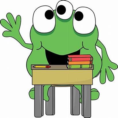 Clipart Monster Clip Desk Monsters Class Cartoon