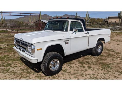 100mph on the sand dunes or at the drag strip, this truck inspires the best of mopar. 1970 Dodge Power Wagon for sale #2397660 - Hemmings Motor News