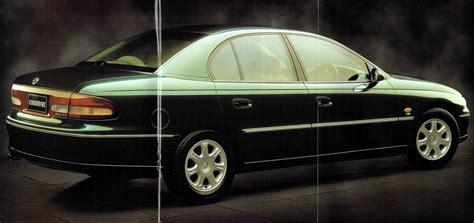 1997 Holden Vt Commodore Brochure