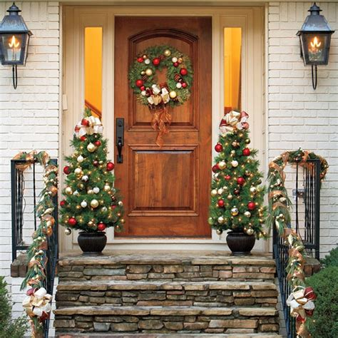 outdoor christmas decoration holiday ideas pinterest