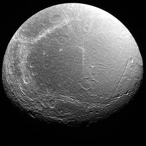 Space Images | Dione as seen by Voyager 2