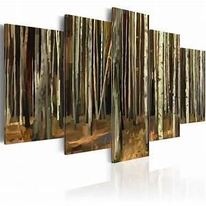 Foret De Sherwood : tableau myst re de la for t de sherwood 5 pi ces ~ Voncanada.com Idées de Décoration