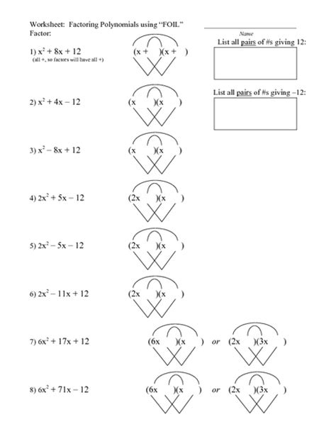 Multiplying Binomials Foil Method 2 Worksheet  Showme Multiply Mixed Numbers With The Foil