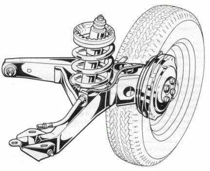 Fiat 126 suspension - front & rear @ CarsfromItaly