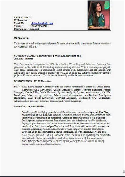 Outlook Resume Templates by Curriculum Vitae Student Sle Sle Template Exle