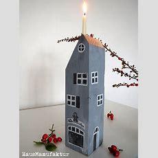 Heute Wurden Wieder Fünf Holzhäuser Weihnachtlich Bemalt