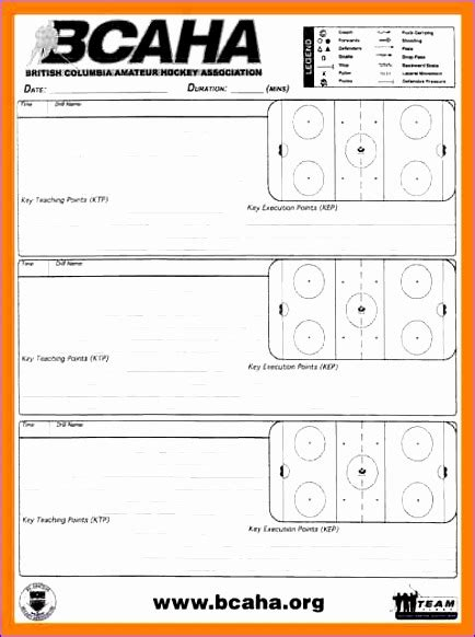 hockey practice plan template 6 meal planning template excel exceltemplates exceltemplates