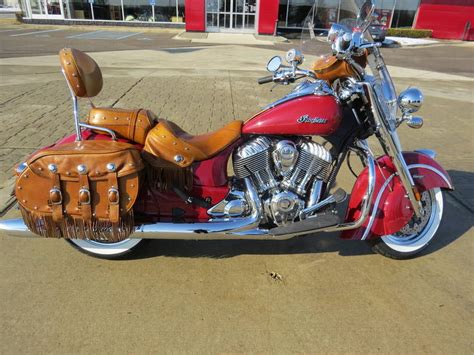 indian chief vintage indian motorcycle red motorcycle