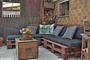 lounge ecke balkon lounge ecke balkon haus ideen die With französischer balkon mit lounge ecke garten