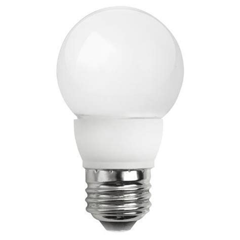 tcp lighting led4e26g1627kf dimmable frosted led globe