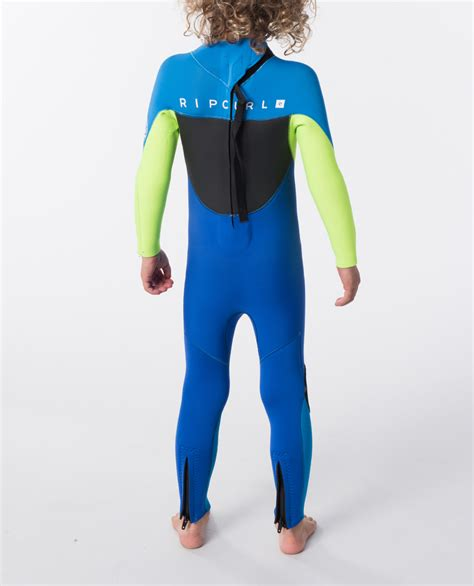 Rip Curl Youth Omega Back Zip Wetsuit Steamer   Ozmosis ...
