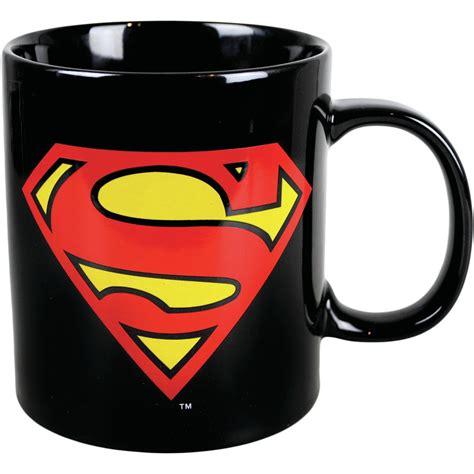 NEW GIANT SUPERMAN LOGO MUG TEA COFFEE CUP NOVELTY DC COMICS CLARK KENT CERAMIC   eBay