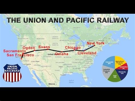 Union Pacific Railway Explained | Route, Map, Cities ...