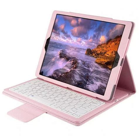 Detachable Bluetooth Keyboard Leather Case Stand for iPad ...