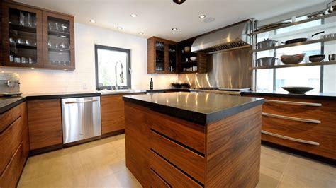 cuisine bois contemporaine cuisine contemporaine en bois amenagement cuisine cbel