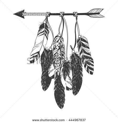 dreamcatcher  arrow  feathers native american