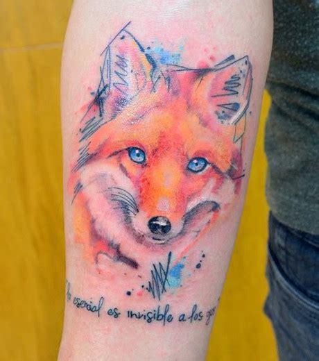 Tatouage Graphique Renard Tattoo Art