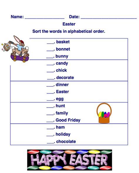 alphabet worksheets alphabetical order worksheets ez