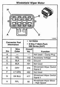 Wiper Motor Diagram - Page 2 - Gm Forum