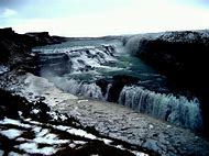 Gullfoss Golden Falls Iceland